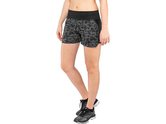 "asics 3,5"" Shorts Print Damen hex type performance black"